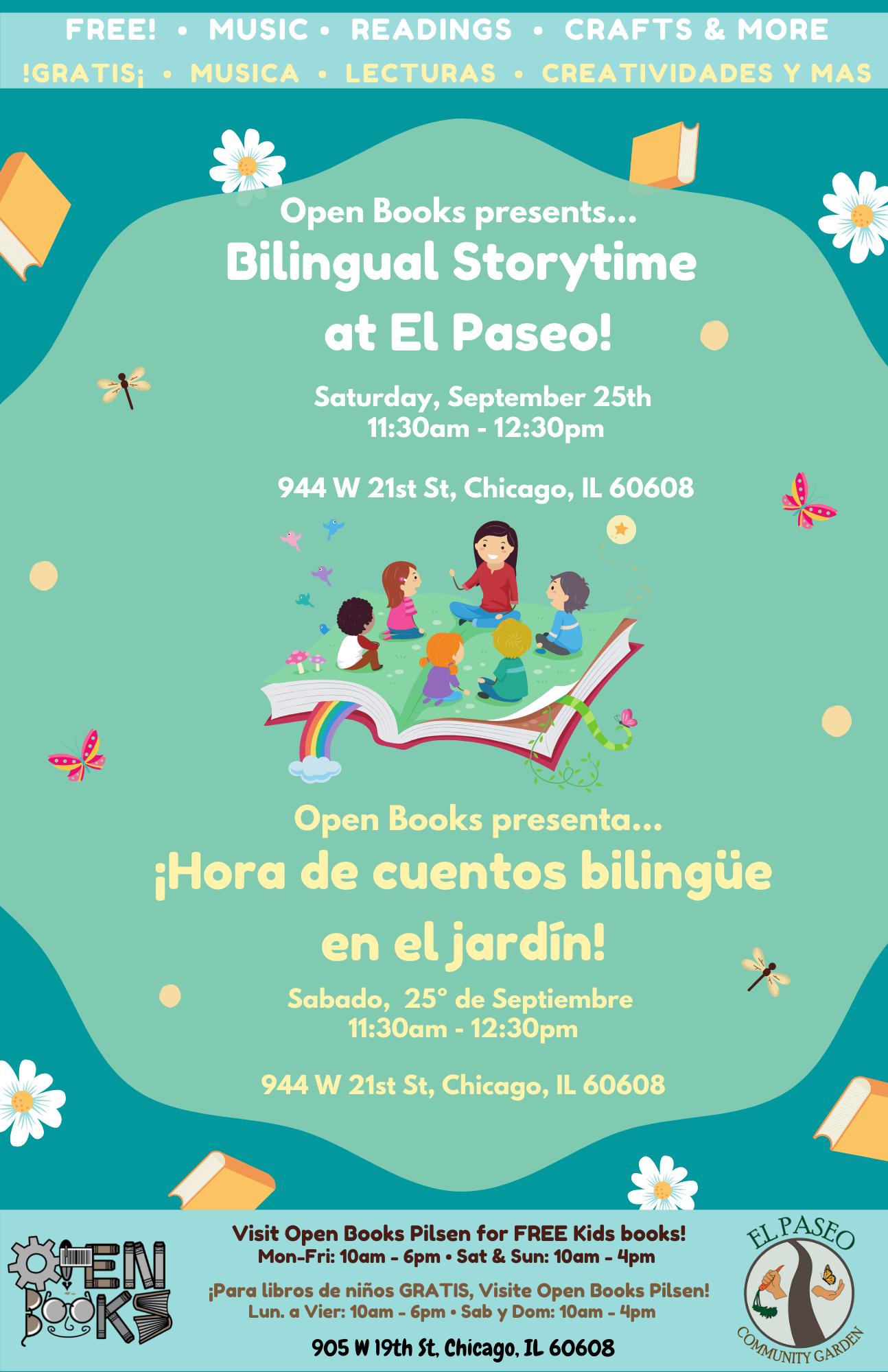 Bilingual Storytime at El Paseo